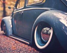 "Rat Rod 15"" White Wall Portawall Tire insert Trim set 4 Pcs VW Beetle Bug Pre."