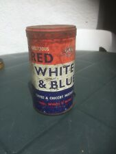 """Double Crown """"Red, White & Blue"""" – Coffee & Chicory Mixture (Empty Can)"""