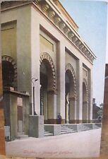 Uk Postcard Rock of Gibraltar Protestant Cathedral Tangier Publisher Saxony 1910