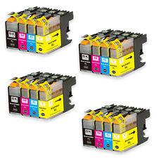 16 Pack Hi Yield Ink Set for Brother Series LC103 MFC J245 J285DW J450DW J470DW