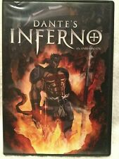 DVD Movie DANTE'S INFERNO An Animated Epic Trip Through Hell w Demons & Monsters