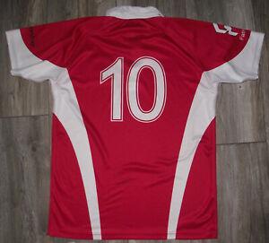Rare Old Match Worn London Welsh Rugby Shirt #10 M/XL