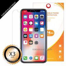 iPhone X Xs Screen Protector 3x Anti-Scratch HD Clear Cover Guard Shield Saver