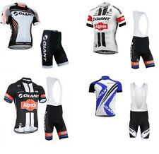 GIANT-Alpecin TEAM Short Sleeve pro Cycling Jersey Bicycle shirt /Bike BIB Short