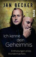 Ich kenne dein Geheimnis von Jan Becker (2013, Taschenbuch), guter Zustand