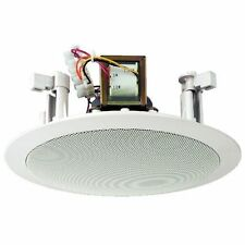 MONACOR EDL-26 ALTOPARLANTE PA SOFFITTO 100VOLT LARGA BANDA 20CM CON TWEETER