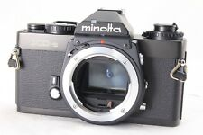 [AB- Exc] Minolta XD-S Black 35mm SLR Film Camera Body w/Strap From JAPAN R4666