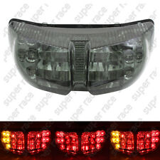New Smoke Brake Turn Signal Tail Light Integrated Led For Yamaha 06~2012 FZ1/FZ8