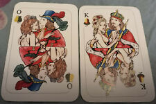 German russian playing cards claudia schiffer