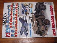 $$$ Revue Tamiya Model Magazine N°38 M26 Dragon WagonTornado GR.MK1Honda NSR