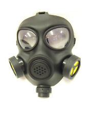Adults Radioactive Fancy Dress Plastic Costume Party Gas Mask Halloween Division