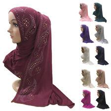 Women Muslim Long Scarf Turban Headscarf Wrap Hijab Shawl Headwear Prayer Stole