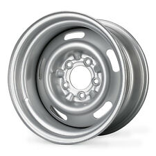 "Steel Rally Wheel 15"" x 8"" - Gray - Direct Fit (1969-1982 C3 Corvette)"