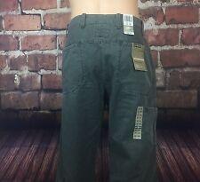 Men's Dockers Premium Workwear Khaki Loose Fit Straight Leg Flat Front 32/30