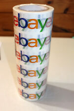 6 Rolls Ebay Branded Packing & Shipping Tape 75 YD x 2""