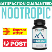 NEURO PEAK Zhou Nutrition Alpha Brain JRE Joe Rogan Bacopa Brahmi Gingko Rhodiol
