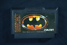 Batman: The Video Game (intendo Famicom NES Japanese NTSC-J Free Shipping
