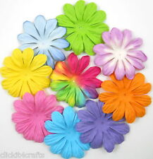 50 Paper Flowers Scrapbook Cardmaking Birthday Party Art Craft Supply PS-427