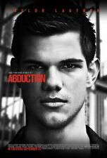 TAYLOR LAUTNER ABDUCTION 27X41 AUTHENTIC DOUBLE SIDED THEATRE RELEASE POSTER