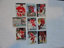 Ray Sheppard  9 Card Lot ALL DIFFERENT Detroit Red Wings