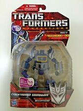 Transformers Generations Deluxe Class Cybertronian Soundwave