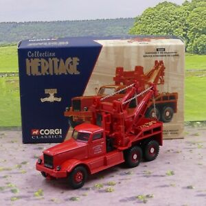 Corgi 55602 Diamond T Wrecker French Fire Brigade 1:50 mint boxed