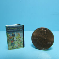 Dollhouse Miniature Bobbsey Twins on Blueberry Island Book with Pages TIN3202