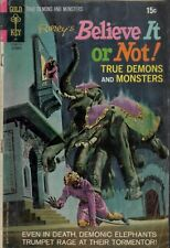 Ripley's Believe It Or Not : True Demons and Monsters.Low Grade Condition. #29.