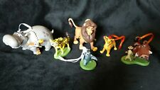 Disney Lion King/ Guard Christmas Ornament set- Kion Pumba Timon