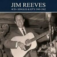 JIM REEVES - SINGLES AND EPS 1949-1962  4 CD NEW!