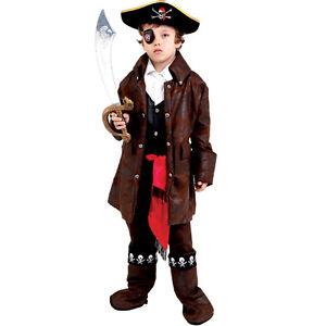 Dress up America Cute Caribbean Pirate Costume For Boys