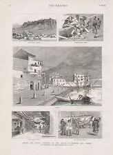 1882 ROUND THE WORLD YACHTING IN THE CEYLON PALERMO AND ATHENS