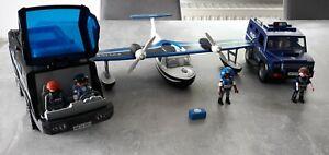 Playmobil Polizei Wagen / Wasserflugzeug / SEK Einsatztruck