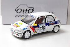 1:18 OTTO Peugeot 106 Rallye Gr.N #126 Loeb 1997 NEW bei PREMIUM-MODELCARS