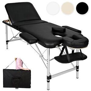 Table Banc Lit de Massage Chaises Pliante Cosmetique en Aluminium Esthetique Sac