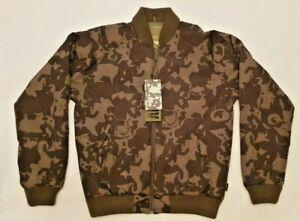 Men's Addict Bomber Jacket in Green Jago Camo. Brand New! ---- Was £110