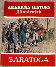 American History Illustrated 1975 Saratoga Burgoyne
