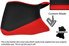 Negro Y Rojo Custom Fits Yamaha 1000 Yzf 96-03 Frontal Thunderace cubierta de asiento