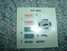 Monogram decals 1/24 1/25 Ford F-250 Pick-Up G54