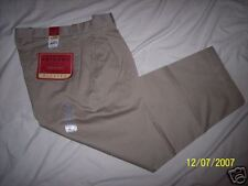 NWT Arizona Pleated Khakis Pant 34X29 JcPenney NEW $30 men's dress pants casual