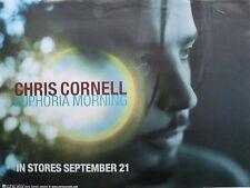 "CHRIS CORNELL ""EUPHORIA MORNING"" U.S. PROMO POSTER - Audioslave, Soundgarden"