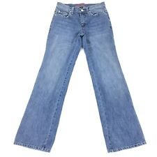 New York And Company Bootcut Jeans 4 Petite Low Rise Stretch West Side Stonewash