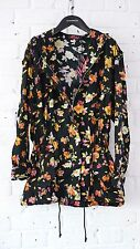 Motel - Ditsy Floral Lightweight Parker / Mac - Festival packing - Small BNWT