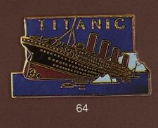 Pin's Demons & Merveilles Cinema Titanic croisiere bateau paquebot boat