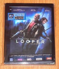Looper (blu-ray) Steelbook. NEW and SEALED (French import) + Lenticular magnet.