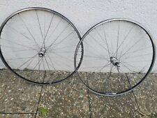 Ambrosio Super Elite Wheels /Shimano 600 Tricolor Hubs / 8 Speed / 130mm