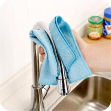 Color Dish Cloth Bamboo Fiber Washing Towel Magic Kitchen Cleaning Wiping Rags