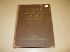 1948 Coyne Electrical Trouble Shooting Manual with 600 Wiring Diagrams