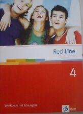 Englisch Red Line 4 Workbook mit Lösungen 8. Klasse Lehrerausgabe  Klett BW