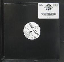 "Gang Starr - Nice Girls, Wrong Place / Rite Where U Stand 12"" Mint- Vinyl Record"